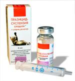Празицид-суспензия сладкая
